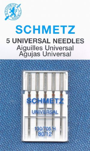 Schmetz - Universal Sewing Machine Needle 80/12